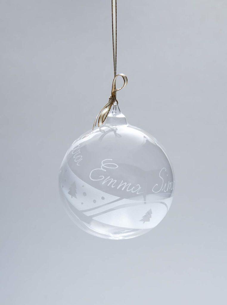 Weihnachtsschmuck und Dekorationen aus Glas